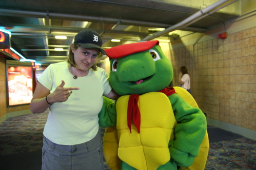 Franklin the Turtle, August 2007, Toronto, ON Affiliation: Treehouse TV